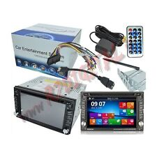 AUTORADIO 2 DIN con WINDOWS 8 TOUCH SCREEN BLUETOOTH STEREO AUTO RADIO DVD FM