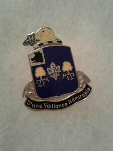 Authentic-US-Army-39th-Infantry-Regiment-Unit-DI-DUI-Crest-Insignia-22M