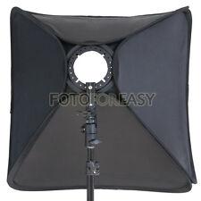 "Softbox For SpeedLight Flash 60cm / 24"" Flash Speedlite Soft box 60x60cm 24""x24"""