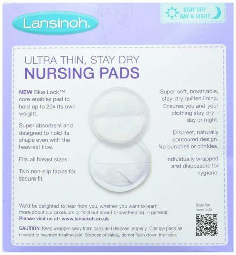 Maternity Breast Pads Disposable Absorbent 60 In Pack
