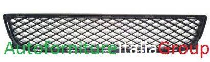 GRIGLIA PARAURTI ANTERIORE CENTRALE INFERIORE NERA SMART FORTWO 07/>12 2007/>2012