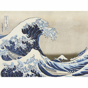 Hokusai-Under-Wave-Kanagawa-36-Views-Mount-Fuji-Painting-Large-Canvas-Art-Print