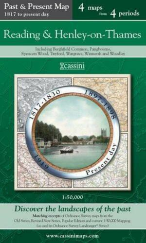 1 of 1 - Reading & Henley-on-T(Cassini Publish.Ltd.Past & Present(Sht.map,folded,2007)NEW
