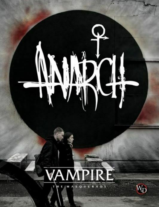 Vampire The Masquerade 5th Edition RPG - Anarch Supplement