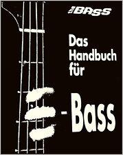 Das schwarze Handbuch für E-Bass Gitarre 300 Seiten A-Z von Oliver Poschmann