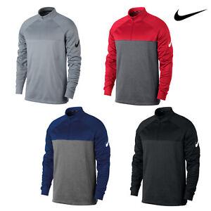Nike-Herren-Therma-Fit-Half-Zip-Top-nk266-wasserabweisend-elastisch-Golf-TOP