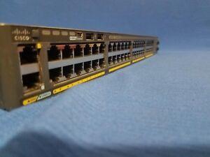 Cisco-WS-C2960X-48TS-LL-Catalyst-switch-2960x-2960-X-48-GigE-2x-1G-SFP-Lan-LITE