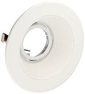 Elco El1493w 4 White Low Voltage Baffle Trim For Recessed Lighting El1499