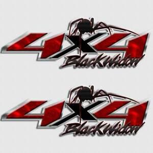 Details About 4x4 Spider Truck Decal Black Widow Sticker For Silverado Gmc Toyota Nissan Dodge