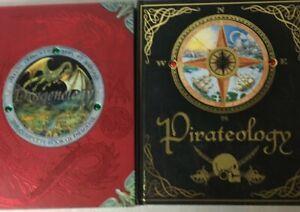Dragonology-amp-Pirateology-Lot-of-2-OLOGY-Books-Candlewick-Press-Dragons-Pirates