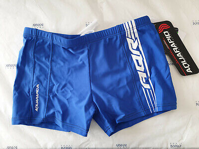 Disciplinato Costume Da Bagno Aquarapid Bambino Bakin Ac Cleveland Blu Piscina Mare Boxer Per Prevenire E Curare Le Malattie