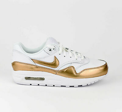 Nike Air Max 1 EP GS Youth Lifestyle Sneakers Shoes New White Blur SIZE 3.5 | eBay