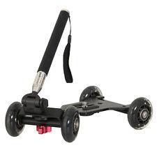 LIFE of PHOTO Dolly Kamerawagen DL-100 für DSLR Kamera mit Teleskoparm