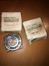 Yamaha Motorbike Crankshaft Bearings 93306-20458 x2