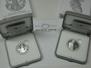 5 und 10 Euro Vatikan Silber PP proof wahlweise ab 2002 - 2020
