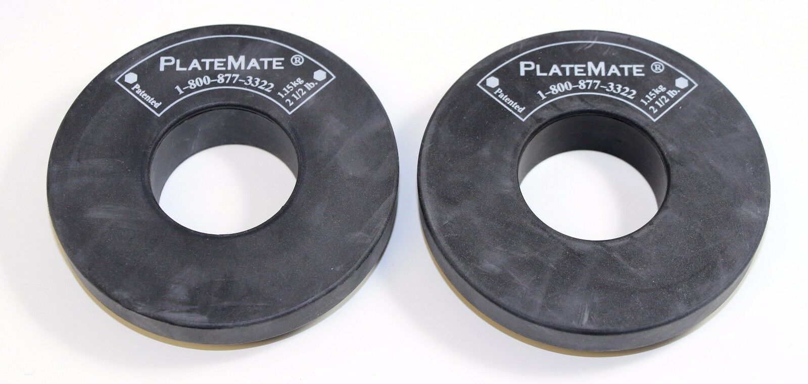 Platemates Microloading Weight Magnets - 2.5 lb. Donut - 1 Pair - NEW
