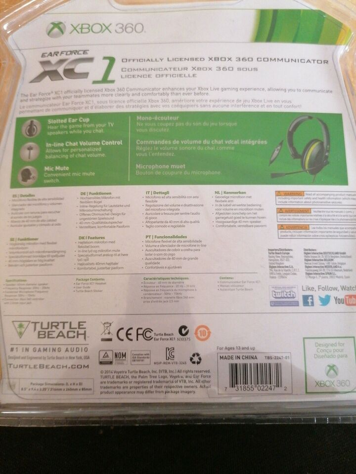 Headset sæt til Xbox 360, Xbox 360, anden genre