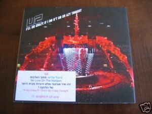 U2  i'll go crazy if i don't go   ISRAEL ISRAELI  PROMO SINGLE CD