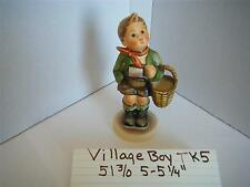 "hummel figurin  the village boy tmk 5  #51  5-5 1/4""    3/0"