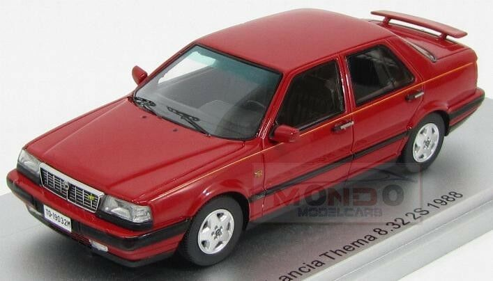 Lancia Thema 8.32 2S (Thema Ferrari) 1988 rouge Kess Model 1 43 KS43019032