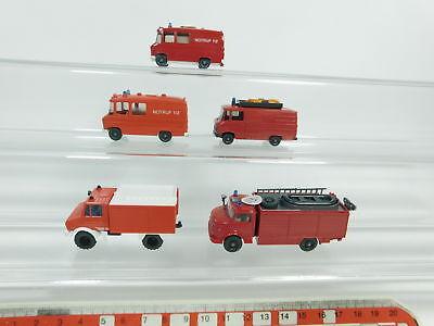 Unimog+608+623 Etc. Mint 2019 Fashion Bd352-0,5# 5x Wiking H0/1:87 Mb Model Fire Brigade/fw