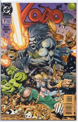 Lobo 1993 series # 7 near mint comic book