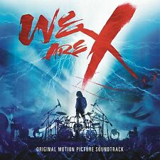 X JAPAN WE ARE X CD NEW SEALED 2017 RELEASE FILM SOUNDTRACK FREE UK POST