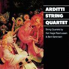 String Quartets (arditti Quartet) Karl Aage Rasmussen Audio CD