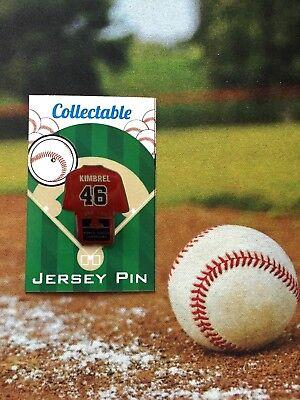 Sport Fanartikel Boston Red Sox Craig Kimbrel Trikot Revers Pin-2018 World Series Sammlerstück