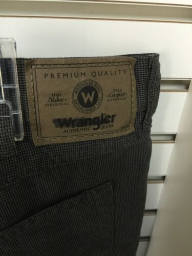 taille 42New Wrangler Originals Irregular homme court 100/% coton gris