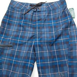 69-LL-Bean-Men-039-s-Sea-Sport-Board-Shorts-Size-30-Waist-Blue-NEW