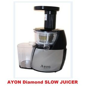 Best Brand For Slow Juicer : Brand New Ayon Diamond Cold Press Slow Juicer Processor ...