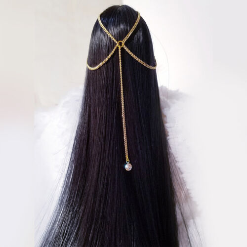 """Custom 1:6 Scale Colorful Headdress hair accessories For 12/"""" Female Body Doll"""