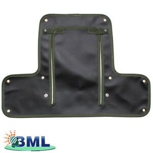LAND-ROVER-SERIES-2-RADIATOR-MUFF-GREEN-PART-DA4025GREEN