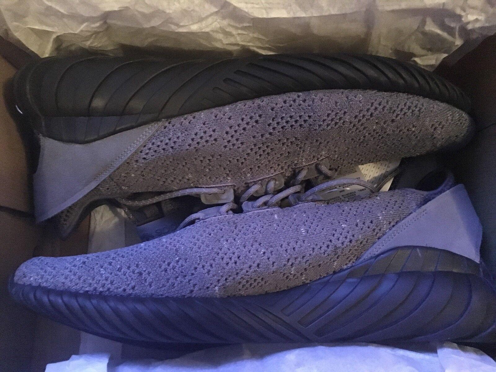Mens Adidas grau Tubular Doom Sock Primeknit-Like Yeezy- Very Rare Größe UK13.5