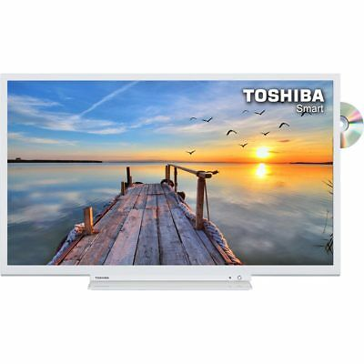 Toshiba 32D3754DB 32 Inch Smart LED TV 720p HD Ready Freeview TV/DVD Combi 3