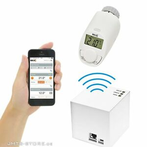 smartphone internet thermostat heizk rperthermostat. Black Bedroom Furniture Sets. Home Design Ideas