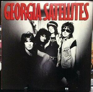 GEORGIA-SATELLITES-Self-Titled-Album-Released-1986-Vinyl-Record-Collection-USA