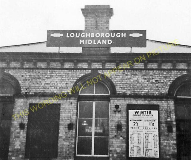 Loughborough Midland Railway Station Photo. Midland Railway. (3)
