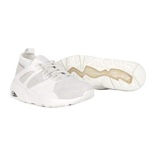 BTS X Puma Bog Sock Shoes Baskets Official White Cream Bangtan Boys Sneakers