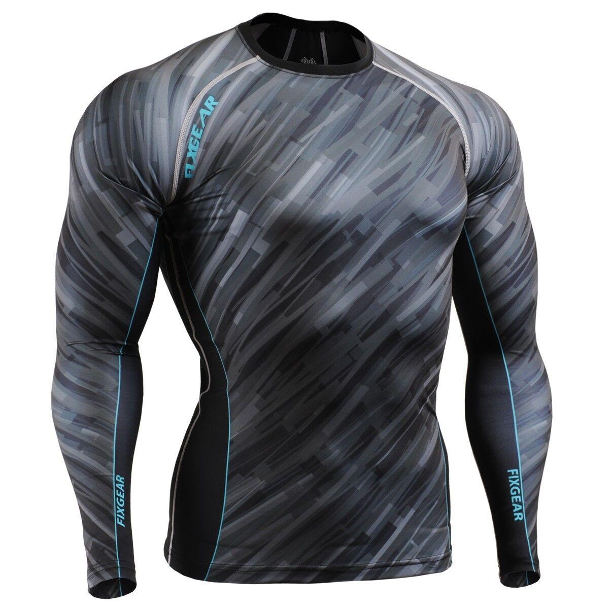 FIXGEAR CFL-67 Compression Shirt Sportswear Bodybuilding Workout Crossfit GYM
