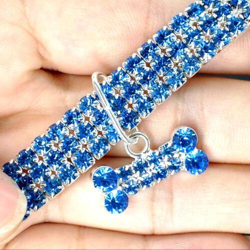 Bling Rhinestone Pet Dog Jewelry Necklace Crystal Jewellery Chihuahua Dog Collar