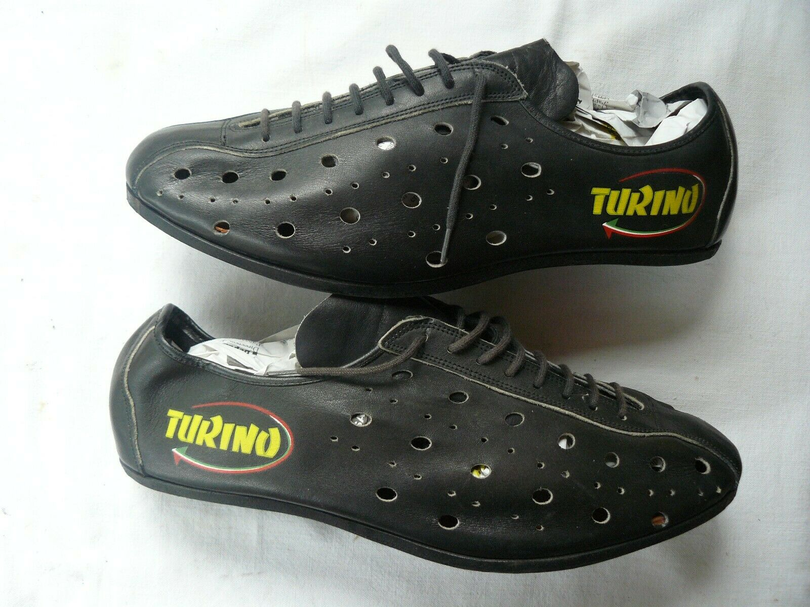 Old cycling  shoes brand turino  timeless classic