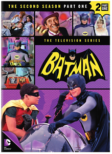 Batman-The-Second-Season-2-Part-One-1-4-DVD-Set-NEW-Adam-West-TV-Series