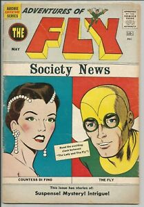 Adventures-Of-The-Fly-6-Society-News-Cover-1960