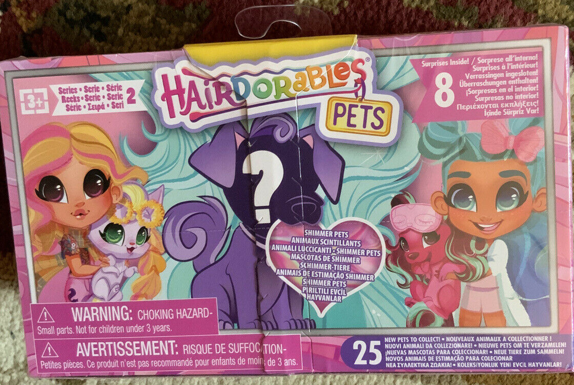 Hairdorables Series 2 Shimmer Pets Mystery Pack