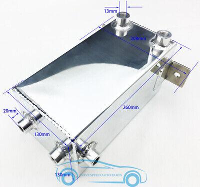 Aluminum Alloy Motorsports Racing Fule Buffer Tank Gas Regulator Tank Can 4L