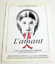 Partition Sheet Music GABRIEL YARED : film l'Amant * 90's JJ ANNAUD / DURAS