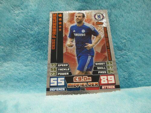 Match Attax ataque 14//15 2014//15 LE1 tarjeta de edición limitada de bronce Cesc el