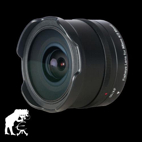 Dörr Fisheye Fischaugenobjektiv  9,3mm F8,0 MFT für Olympus und Panasonic